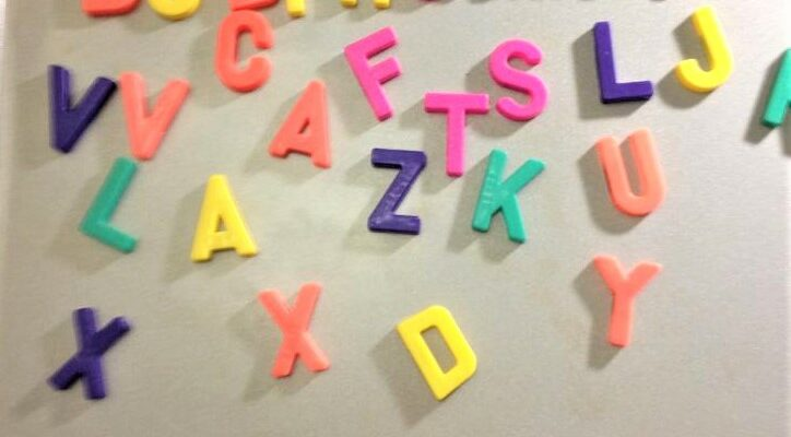Using Magnetic Alphabet