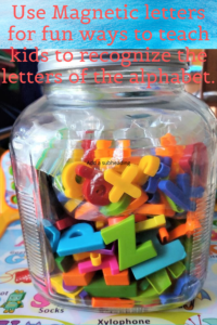 How To Teach Kids To Recognize The Letters Of The Alphabet