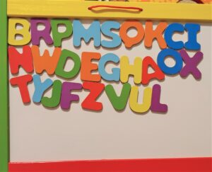 Using More Fun Games To Teach Letter Recognition