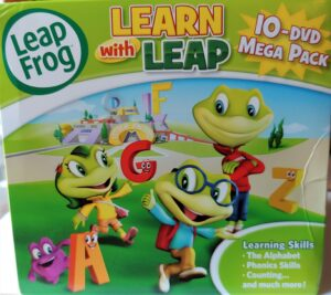 Leapfrog Learning With 10-dvd Mega Pack – Can It Help Your Child?
