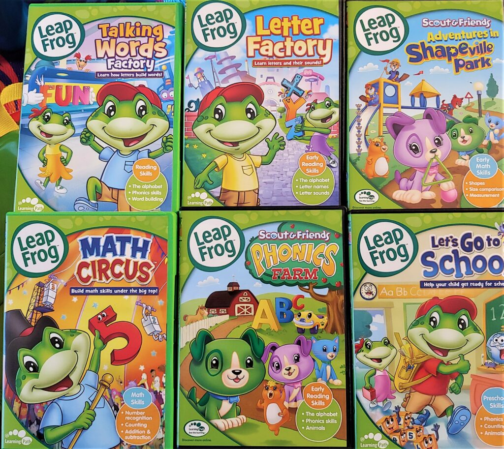 Leapfrog Learning With 10-dvd Mega Pack - Can It Help Your ...